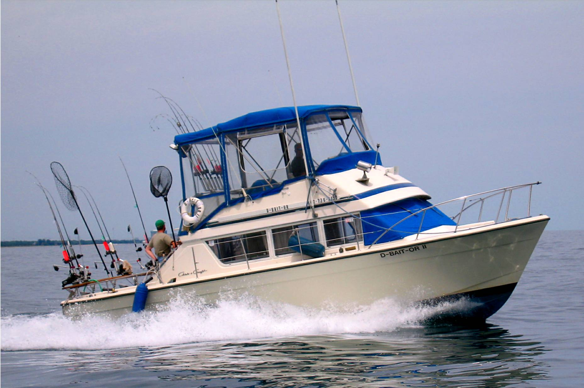 Fishing trips and charters michigan autos post for Charter fishing trip